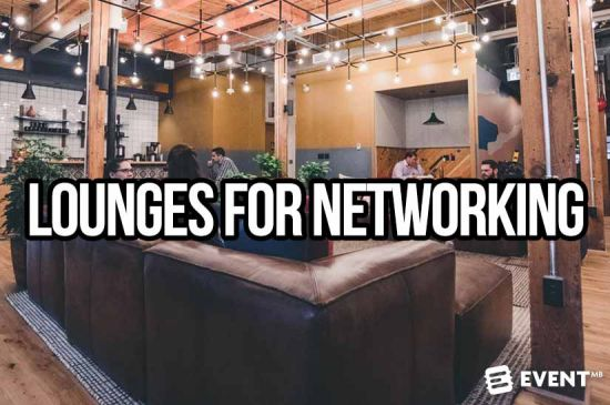 20 Comfortable Event Lounges For Attendee Networking