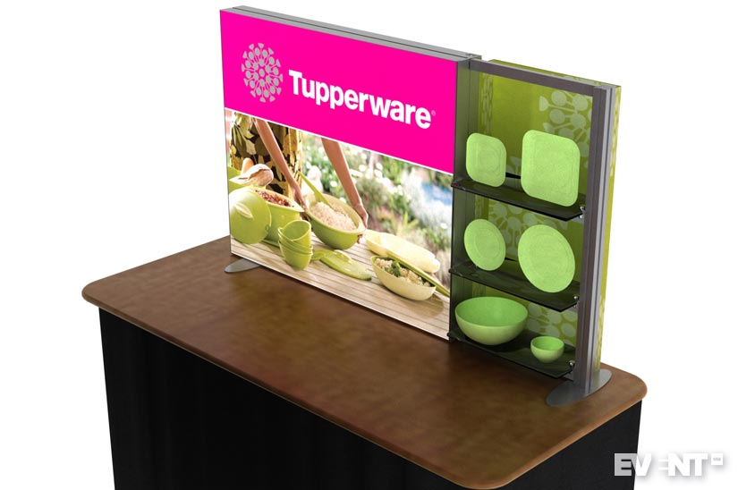 trade show booth signage