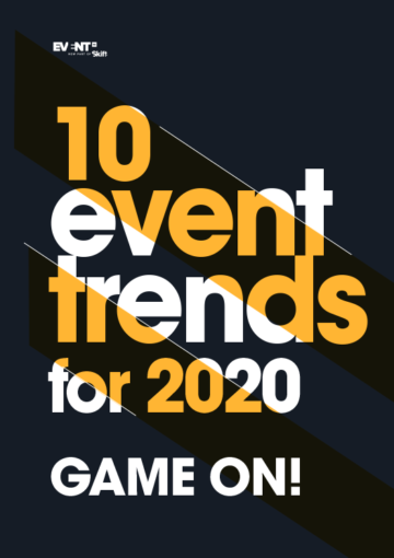 10 EVENT TRENDS 2020